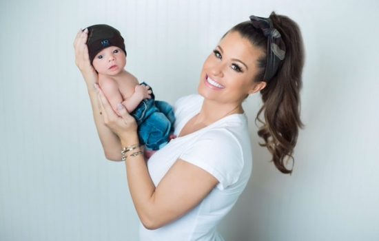 Wrestler Brooke Adams shares pregnancy and being a mom on TLC reality show